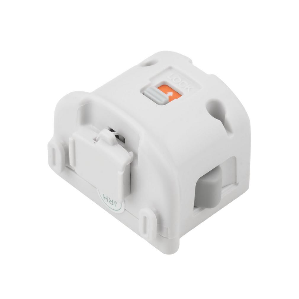 white motion plus adapter sensor for nintendo wii wii u. Black Bedroom Furniture Sets. Home Design Ideas