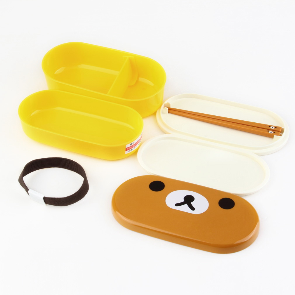 lovely high heat resistance double layers chopsticks plastic bento lunch box bs ebay. Black Bedroom Furniture Sets. Home Design Ideas