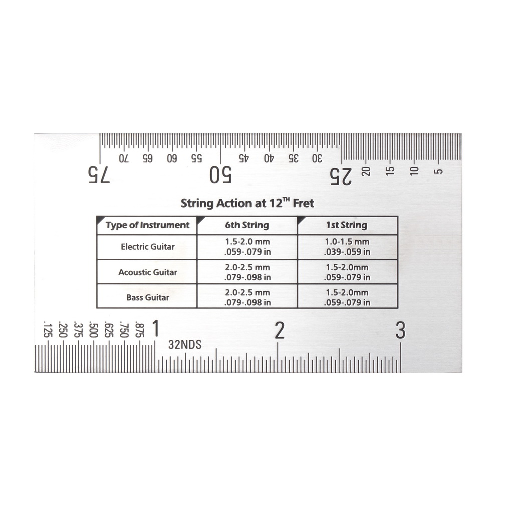 Electric Guitar Action 12th Fret Mm : durable string action ruler gauge tool in mm for guitar bass mandolin banjo yk02200 11street ~ Vivirlamusica.com Haus und Dekorationen