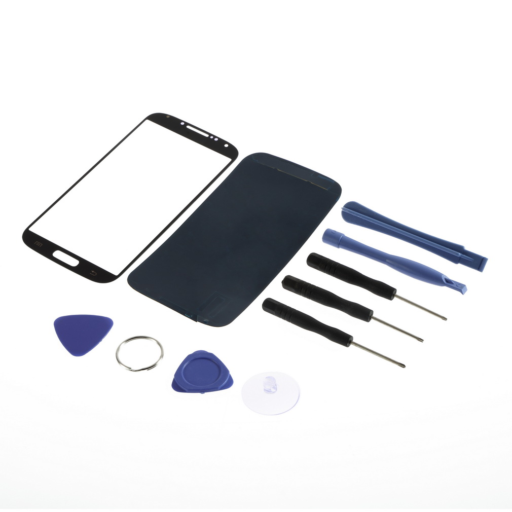 Screen glass lens replacement kit for samsung galaxy i9500 for Window replacement tools