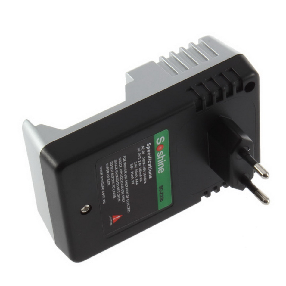eu plug charger for aa aaa 9v ni mh ni cd rechargeable battery batteries nj ebay. Black Bedroom Furniture Sets. Home Design Ideas