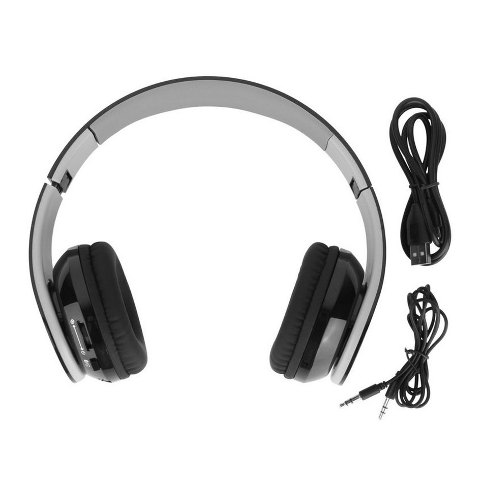 wireless stereo bluetooth 4 0 headphones for all cell phone laptop pc tablet e0. Black Bedroom Furniture Sets. Home Design Ideas