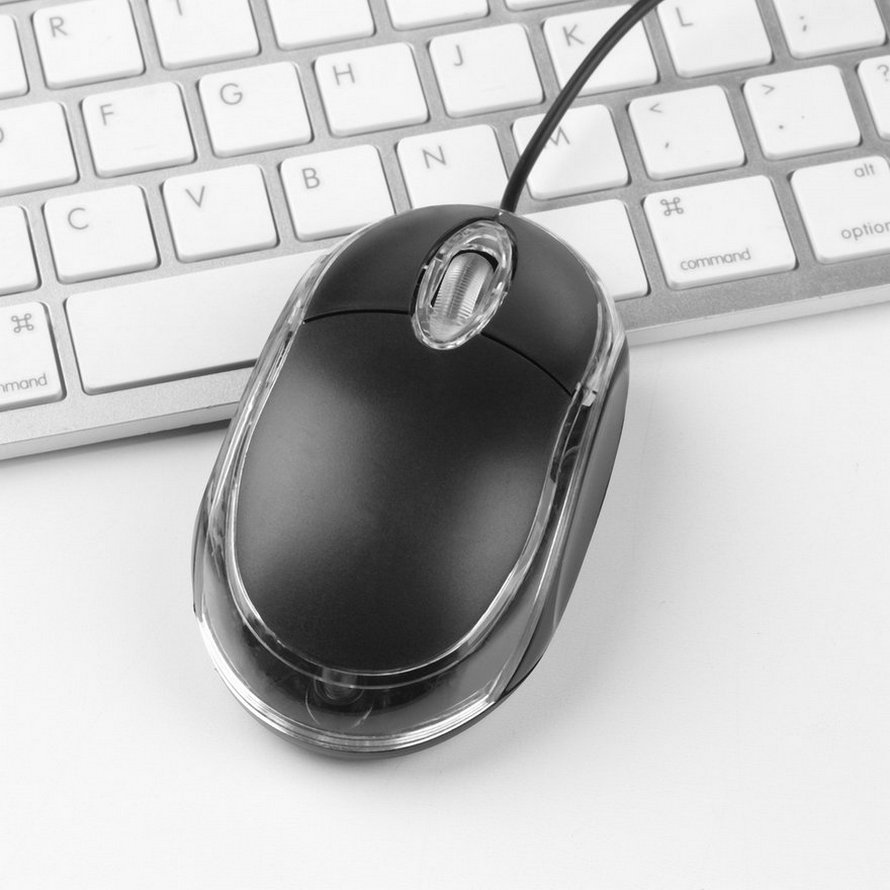 usb optical mouse mice scroll wheel for computer pc laptop dell