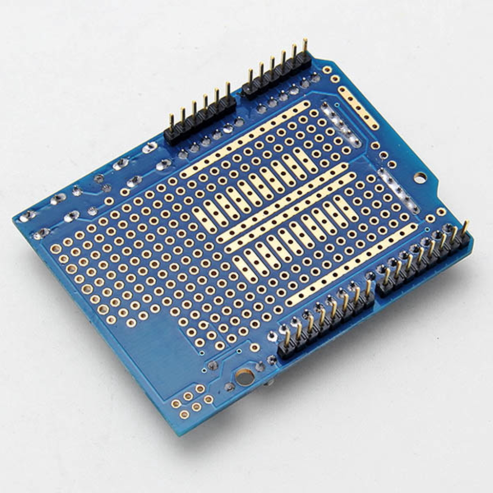 Arduino prototyping prototype shield protoshield with mini