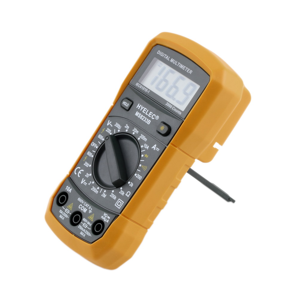 Electronic Measuring Instruments : Pro digital voltmeter ammeter ohmmeter multimeter volt