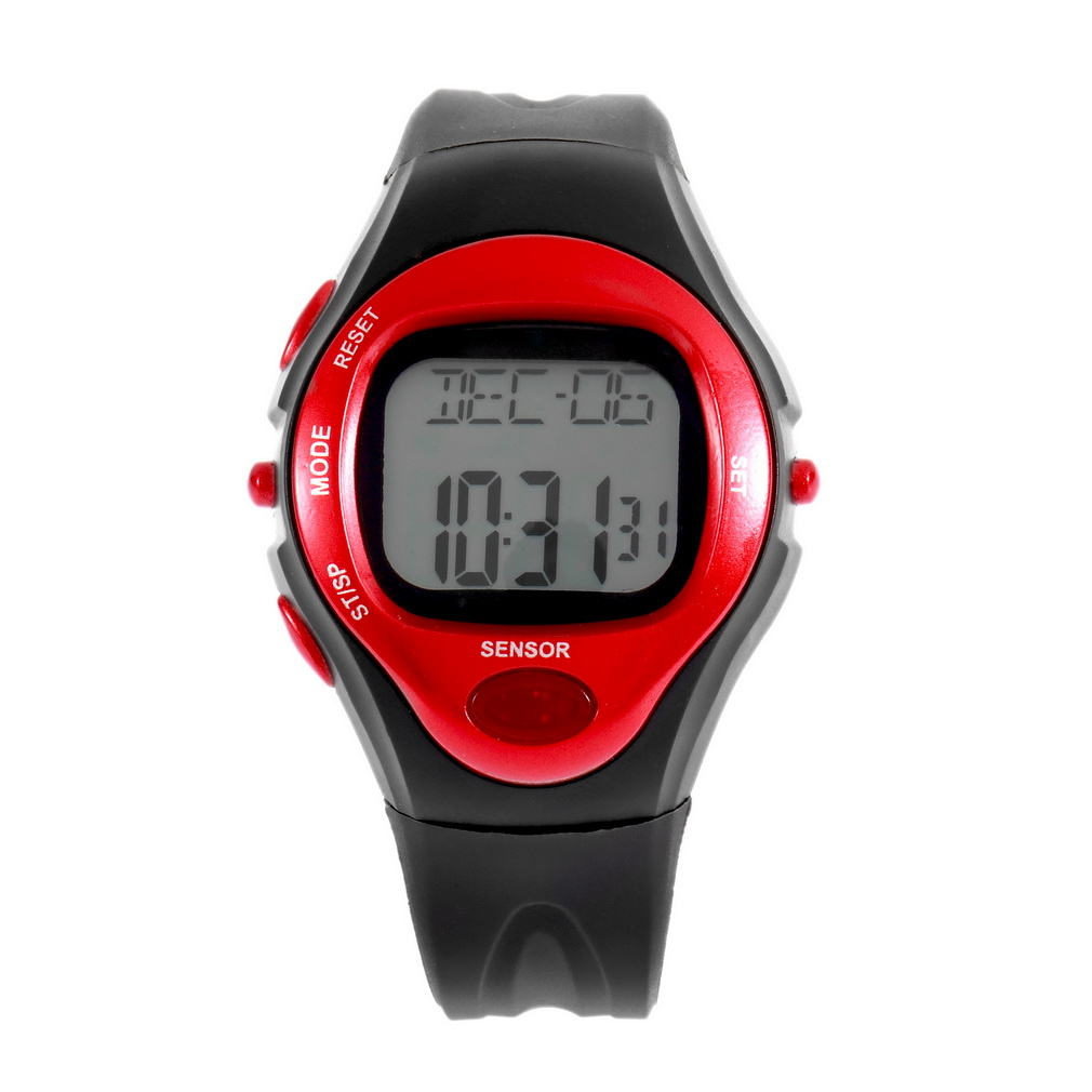 Pulse Heart Rate Monitor Calories Counter Fitness Watch ...