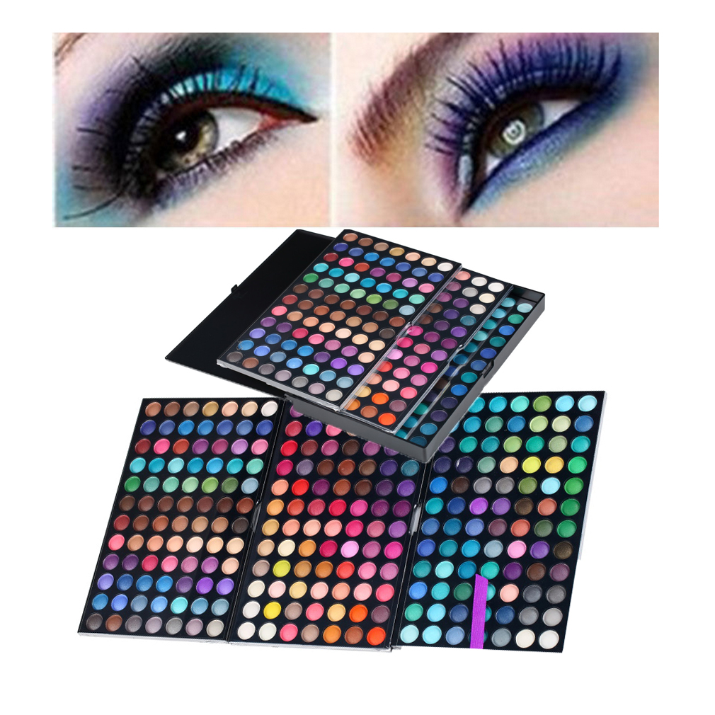 Full 252 Color Eye Shadow Makeup Cosmetic Shimmer Matte Eyeshadow Palette AU