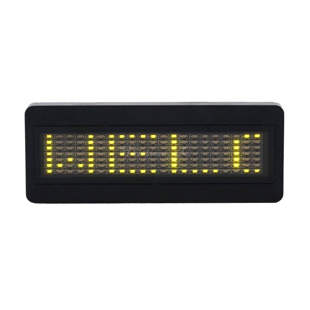 scrolling led message display P5 16x64 dots world language support led scrolling message mini display l1664g green color about us.