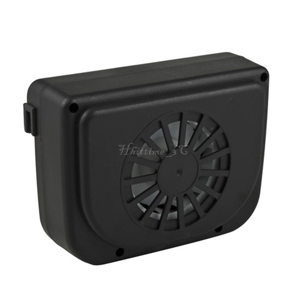 solar sun power car auto air vent cool fan cooler ventilation system radiator au ebay. Black Bedroom Furniture Sets. Home Design Ideas
