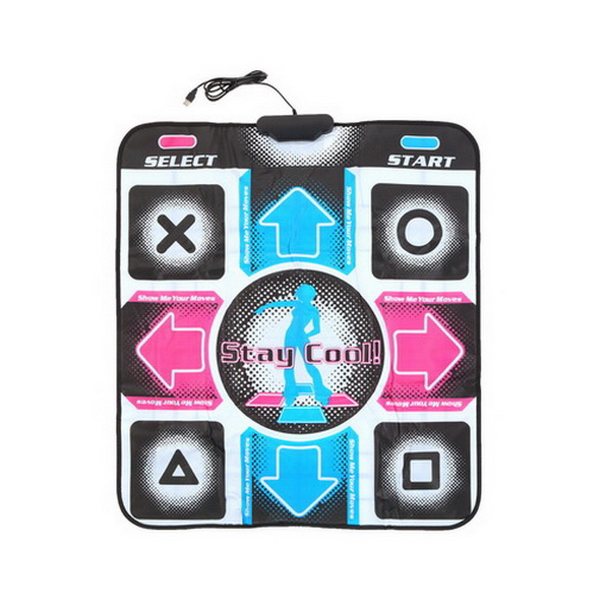 Non-Slip Dancing Step Dance Mat Pad Pads Dancer Blanket to PC with ...