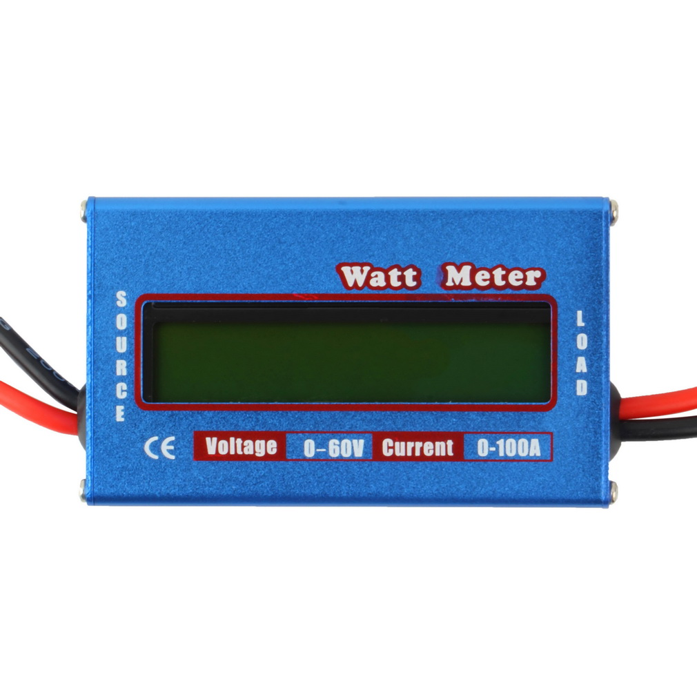 100A 60V DC RC Helicopter Airplane Battery Power Analyzer