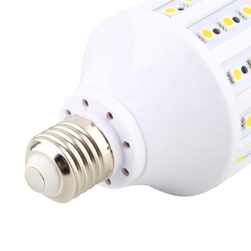 E27 220v 5050 165leds Smd Led Energy Saving Corn Light Bulb Lamp Qk Ebay