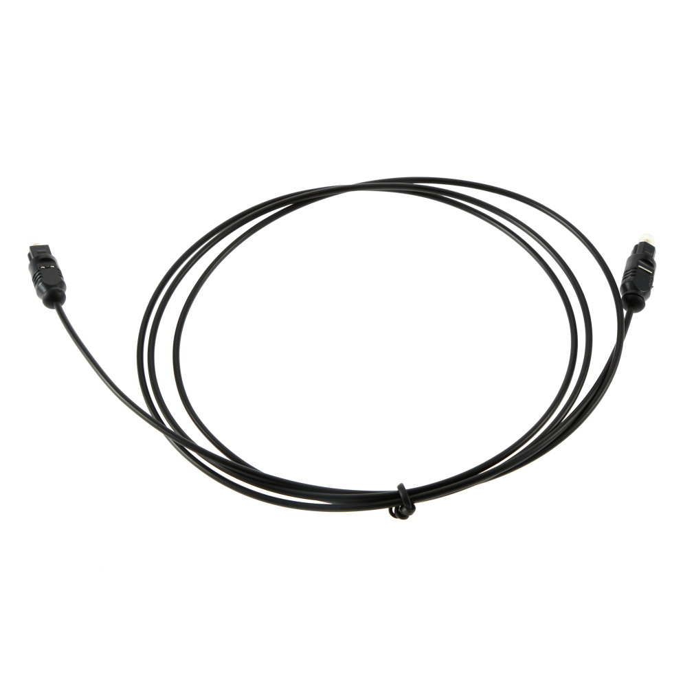 1 5m digital optical audio optic fiber cable black tv power amplifier soft cc