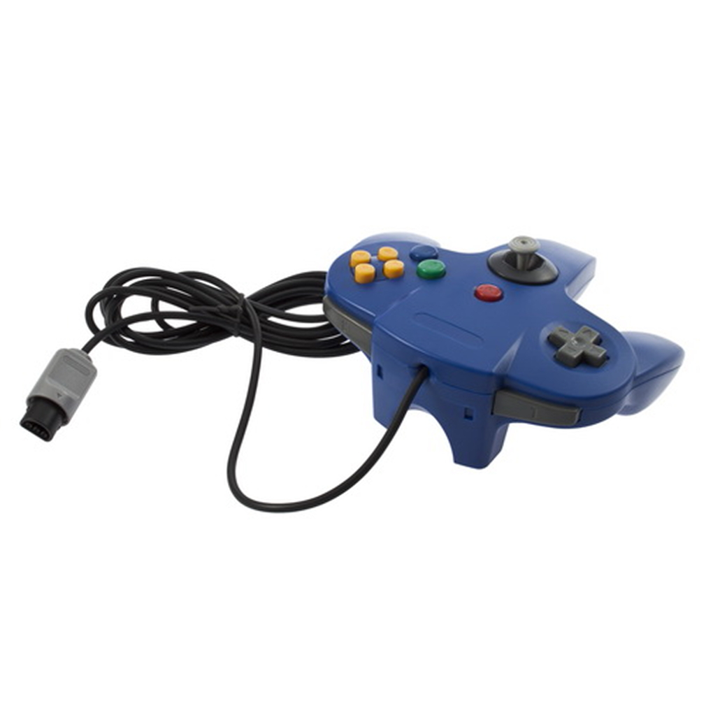 Game Controller Joystick for Nintendo 64 N64 System Blue CC | eBay