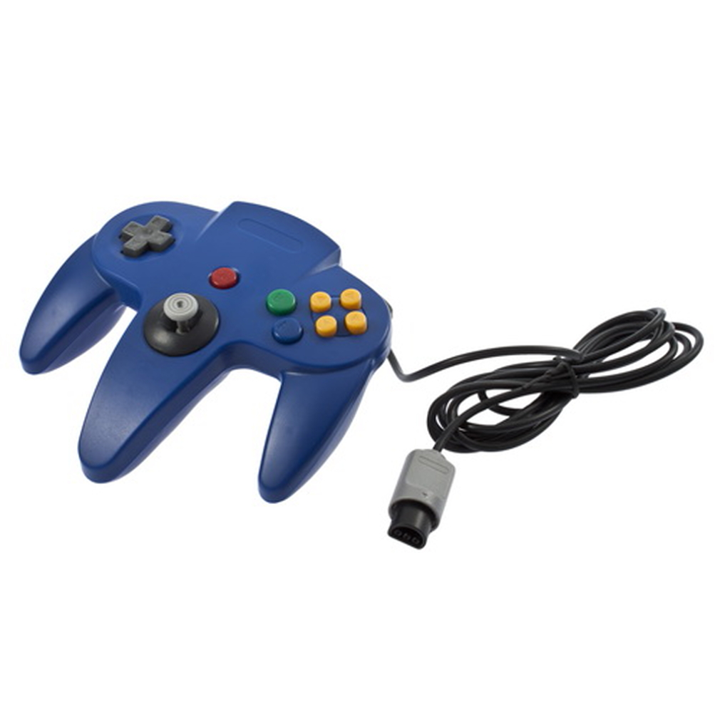 Game Controller Joystick for Nintendo 64 N64 System Blue CA | eBay