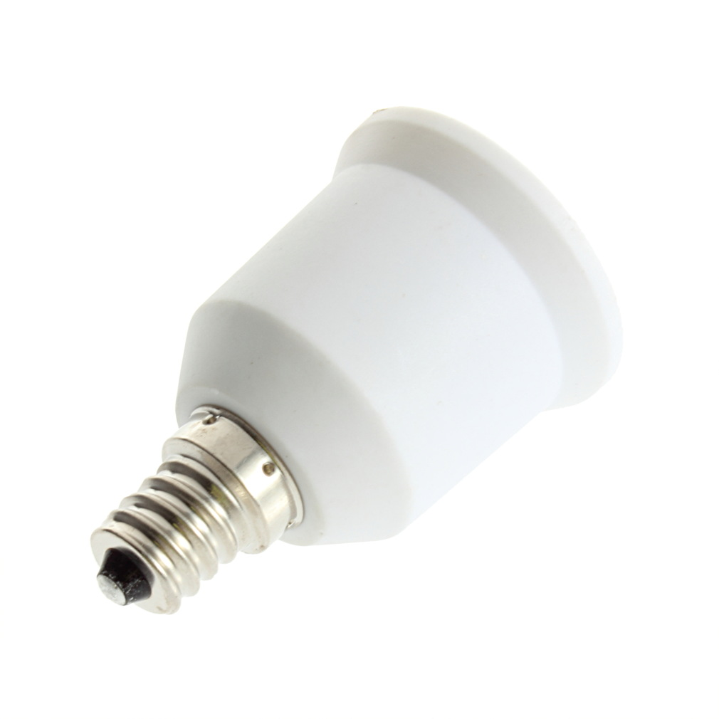 E12 To E27 Socket Light Bulb Lamp Holder Adapter Plug Extender Lampholder Ca Ebay