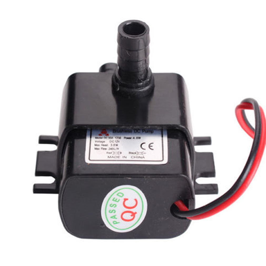 dc12v 3m 240l h ultra quiet brushless motor submersible pool water pump solar z ebay. Black Bedroom Furniture Sets. Home Design Ideas