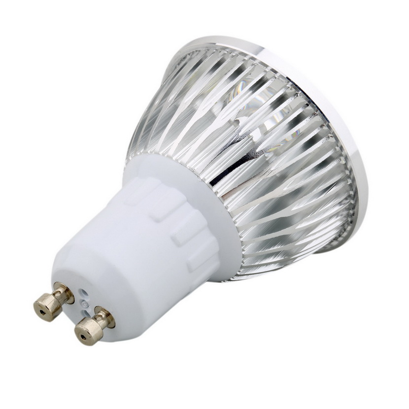 6w 4led Gu10 Spotlight Led Downlight Lamp Bulb Spot Light Pure Warm White Cc Ebay