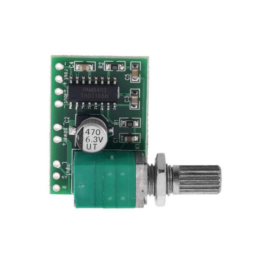 mini pam8403 5v 2 channel usb power audio amplifier board 3wx2w