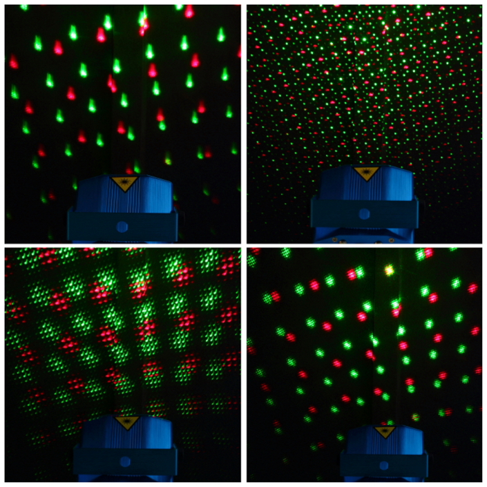 Mini led projecteur laser clairage clairage dj disco party t l commande eclairage laser for Projecteur led laser