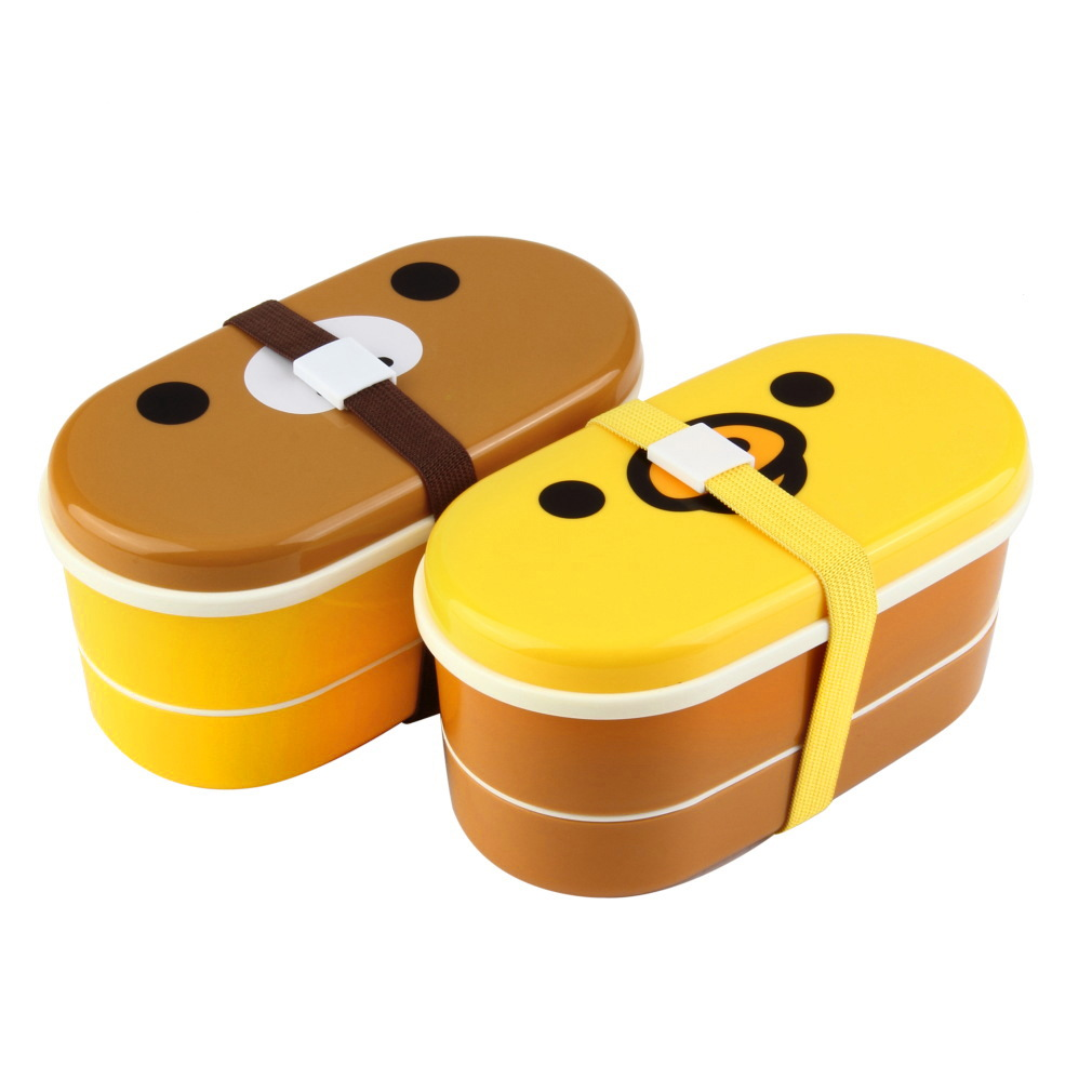 new high heat resistance double layers chopsticks plastic bento lunch box lot dp ebay. Black Bedroom Furniture Sets. Home Design Ideas