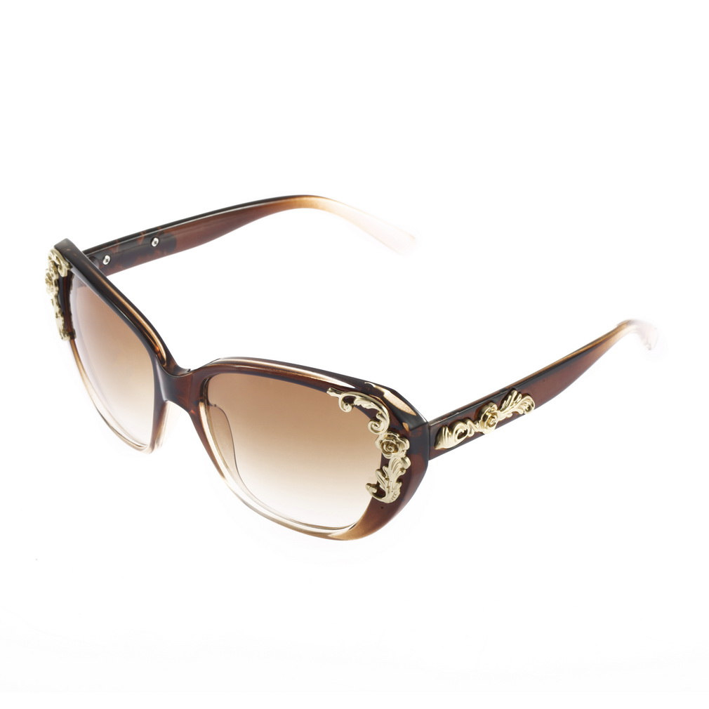 403ec88d41 Gold Cat Eye Sunglasses